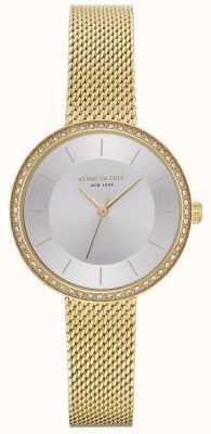 Kenneth Cole Damski zegarek z diamentem w kształcie diamentów KC50198005