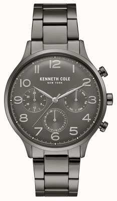 Kenneth Cole Zegarek chronograf męski platerowany pvd KC15185002