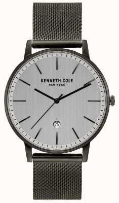 Kenneth Cole Klasyczny, siatkowy zegarek wykonany ze stali nierdzewnej KC50009003