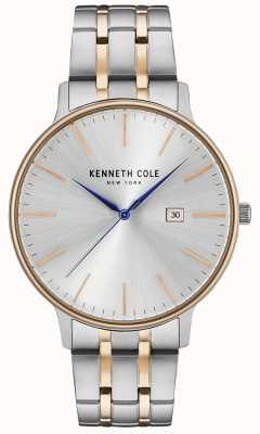 Kenneth Cole Zegarek Monroe | dwukolorowa bransoleta ze stali nierdzewnej | KC15095003