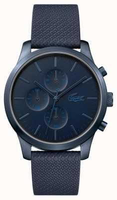 Lacoste Męskie 12.12 z okazji 85-lecia granatowy zegarek 2010948