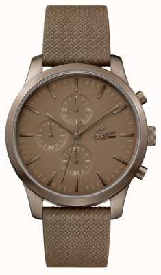 Lacoste Męskie 12.12 85-ty roczny zegarek khaki 2010949