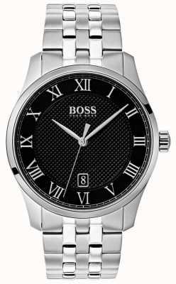 Boss Zegarek męski ze stali nierdzewnej z czarną tarczą 1513588