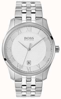 Hugo Boss Zegarek męski ze srebra ze stali szlachetnej 1513589