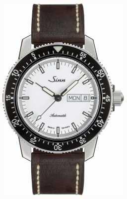 Sinn 104 st sa iw klasycznym pilotażowym zegarku brązowa skóra w stylu vintage 104.012 BROWN VINTAGE LEATHER
