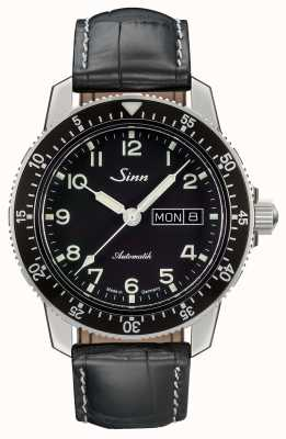 Sinn 104 st to klasyczny skórzany pasek na zegarek pilotażowy 104.011 LEATHER