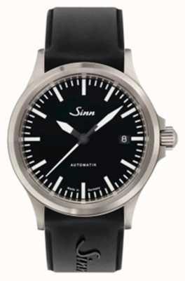 Sinn 556 i sport czarny silikonowy pasek z szafirowego szkła 556.010 SILICONE