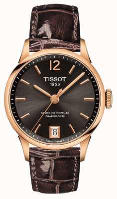 Tissot Damska chemin des tourelles powermatic 80 T0992073644700