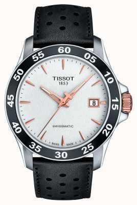 Tissot Męski skórzany pasek w kolorze swissmatic t-sport T1064072603100