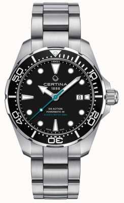 Certina Mens DS Action Divers Powermatic 80 do ochrony żółwi morskich C0324071105110
