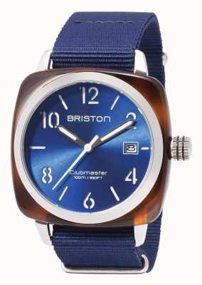 Briston Clubmaster sport ikony niebieski pasek 17142.SA.TS.9.NNB