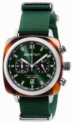Briston Clubmaster sport ikon zielony pasek 17142.SA.TS.10.NBG