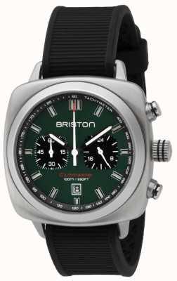 Briston Clubmaster sport brytyjski zielony matowy czarny pasek 16142.S.SP.16.RB