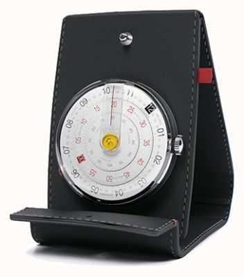 Klokers Klok 01 czarny zegarek biurko i kieszeń KLOK-01-D2+KPART-01-C2