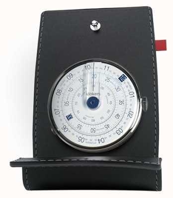 Klokers Klok 01 niebieski zegarek biurko i kieszeń KLOK-01-D4.1+KPART-01-C2