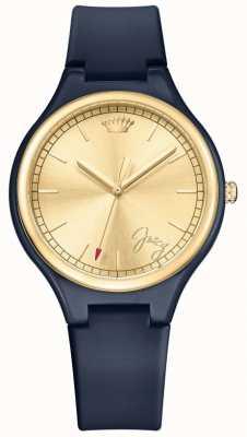 Juicy Couture Damski granatowy dzień marzycielski zegarek 1901643