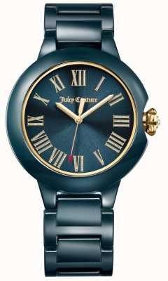 Juicy Couture Damski zegarek ceramiczny czarny burbank 1901653