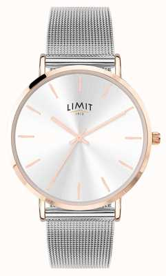 Limit Zegarek ze srebrnej stali damskiej 6309.37