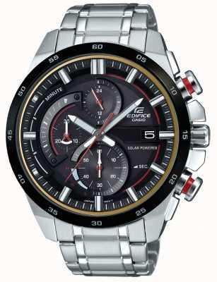 Casio Męski gmach 3d chronograf zasilany energią słoneczną zegarek EQS-600DB-1A4UEF