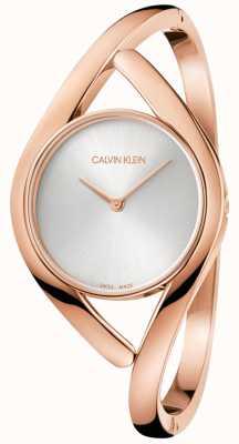 Calvin Klein Damski zegarek ze stali nierdzewnej w kolorze różowego złota K8U2M616