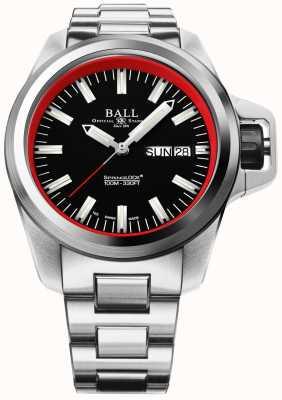 Ball Watch Company Limitowana edycja węglowodoru inżyniera devgru NM3200C-SJ-BKRD