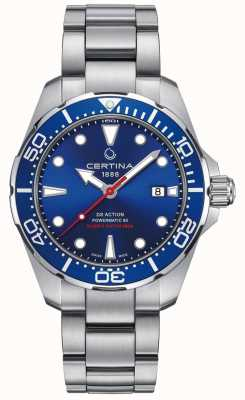 Certina Męski DS Action Diver Powermatic 80 Automatic C0324071104100