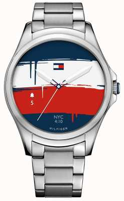 Tommy Hilfiger Unisex bluetooth android nosić smartwatch 1791405
