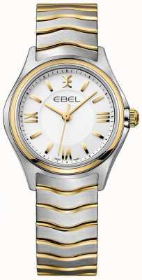 EBEL Damska bransoletka w kolorze białym z dwukolorowym złotem i srebrem 1216375