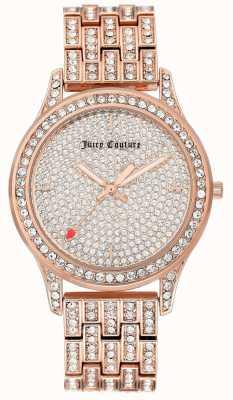 Juicy Couture Zegarek damski z różowego złota JC-1044PVRG