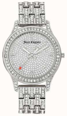 Juicy Couture Bransoletka ze srebra ze stali nierdzewnej JC-1045PVSV