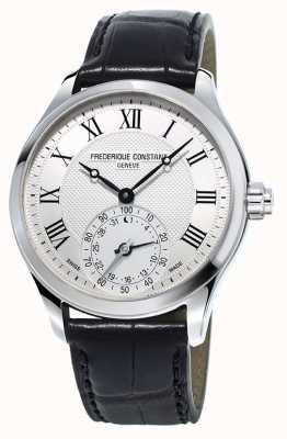 Frederique Constant Męski, czarny pasek do zegarka smartwatch FC-285MC5B6