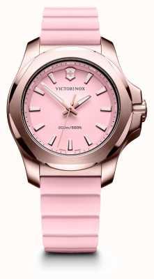 Victorinox Swiss Army Damski zegarek inox różowy 241807