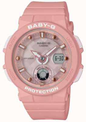 Casio Baby-g różowy pasek podróżny na plaży BGA-250-4AER