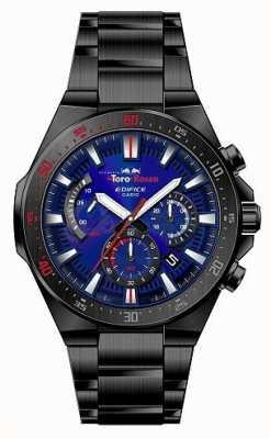 Casio Gmach toro rosso czarny pl plated niebieski zegar chrono EFR-563TR-2AER