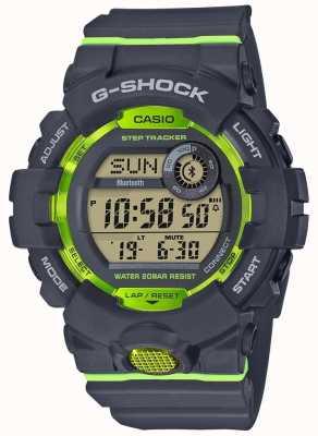 Casio G-squad szary zielony cyfrowy krokomierz bluetooth GBD-800-8ER