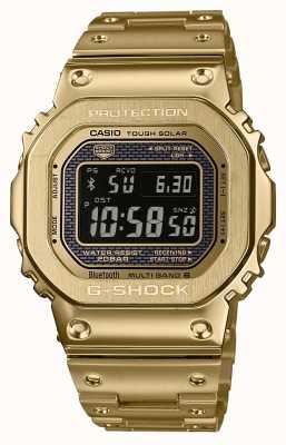 Casio Premium G-shock sterowana radiem bluetooth stal pokryta złotem GMW-B5000GD-9ER