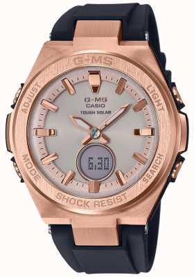 Casio G-ms baby-g z żółtego złota z mocnego złota MSG-S200G-1AER
