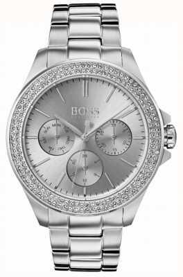 Hugo Boss Damska premiera zestawu kryształów ze stali nierdzewnej 1502442