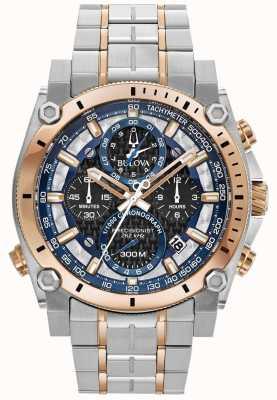 Bulova Precyzyjny zegarek ze stali nierdzewnej dla sportowców 98B317