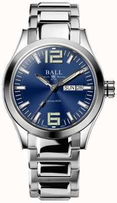 Ball Watch Company Inżynier iii król niebieska tarcza ze stali nierdzewnej NM2026C-S12A-BE