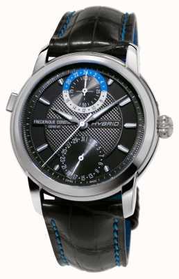Frederique Constant Hybrydowa produkcja 3.0 automatyczny czarny pasek do zegarka smartwatch FC-750DG4H6