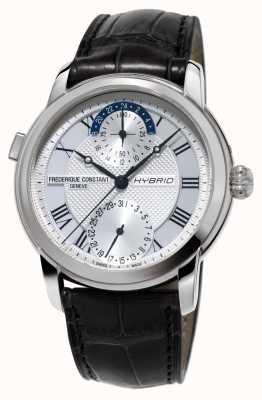 Frederique Constant Hybrydowa produkcja 3.0 automatyczny czarny pasek do zegarka smartwatch FC-750MC4H6
