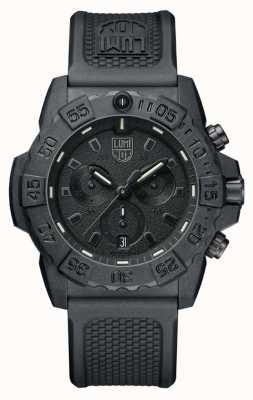 Luminox Navy seal 3580 chronograf czarny / czarny z paskiem pu XS.3581.BO