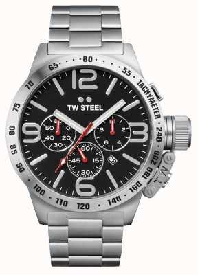 TW Steel Stołówka męska 50mm chronograf ze stali nierdzewnej CB8