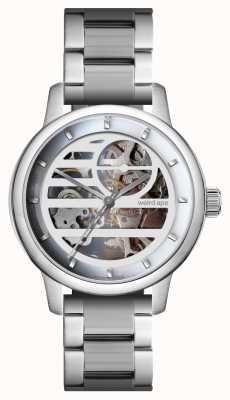 Weird Ape Rosalind biała srebrno-srebrna bransoletka WA02-005833