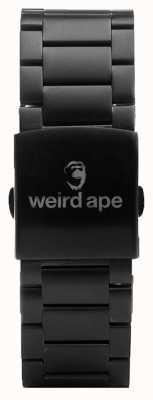 Weird Ape Czarna bransoletka 20mm ST01-000002