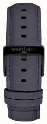 Weird Ape Niebiesko-fioletowy zamsz 20mm pasek czarna klamra ST01-000079