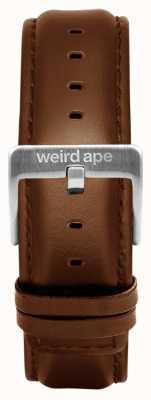 Weird Ape Skórzana srebrna klamra dębowa 20mm ST01-000099