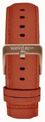 Weird Ape Zamszowy pasek z rombu z 20 mm różowego złota ST01-000094