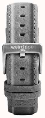 Weird Ape Szara zamszowa szara zamszowa srebrna klamra ST01-000016